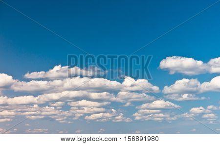 Divine Blue Heaven Wallpaper