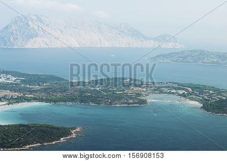 View Of Coast Of San Teodoro, Sardinia