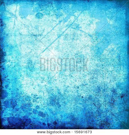 Grungy blue texture