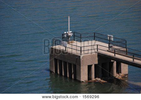 Reservoir Water Intake Tower