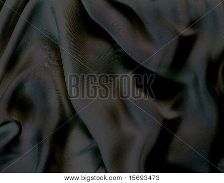 black shimmery silk background