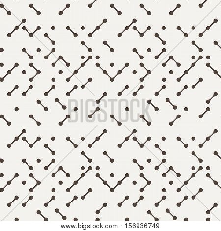 Vector seamless pattern in the digital style of the motherboard