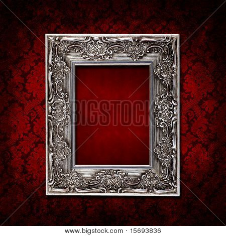 Vermelho escuro sujo vintage wallpaper