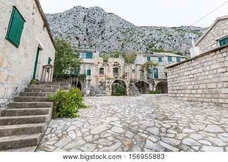 Tucepi is the typical Dalmatian village in the mountain Biokovo.