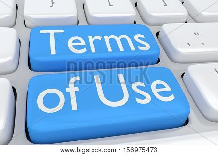 Terms Of Use Concept