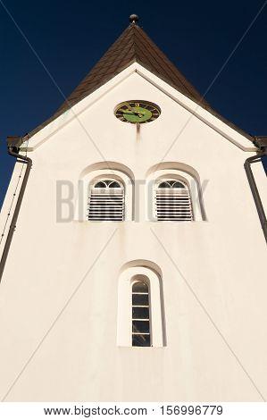 Church Of Nebel On Amrum, Germany