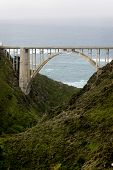 pic of bixby  - Arch of the Bixby Bridge Big Sur California - JPG