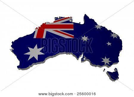 detailed map of australia
