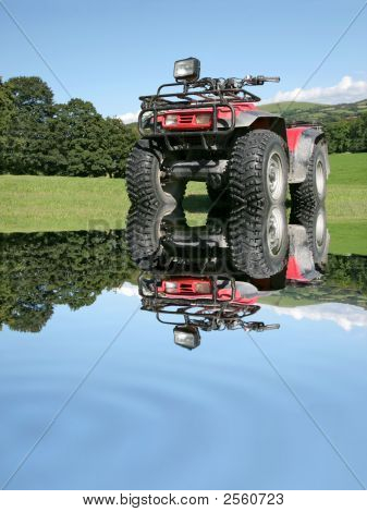 All Terrain Quad Bike