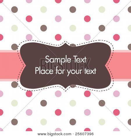 greeting or invitation card design