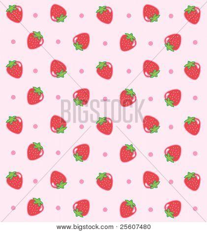 Sweet Strawberry Pattern