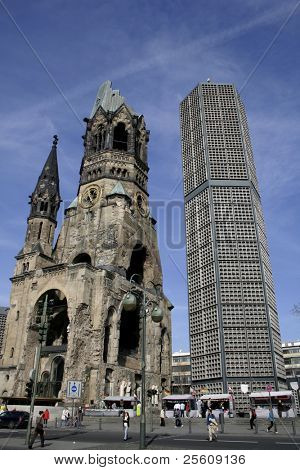 Gedaechtnis kirche, berlin, germany
