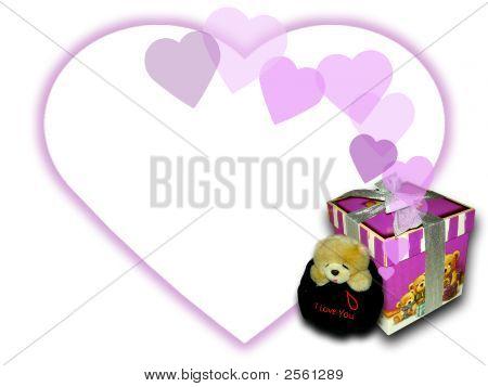 Bear And Gift Box
