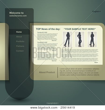 Web Site Design, Vector