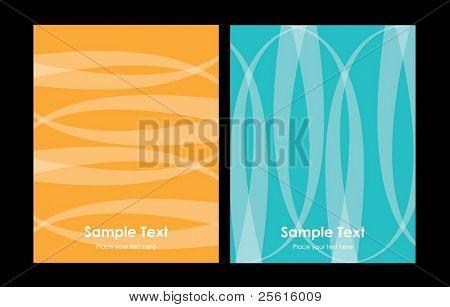 vector business background set