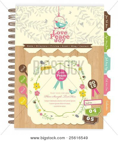 Cute scrapbook elements (10)