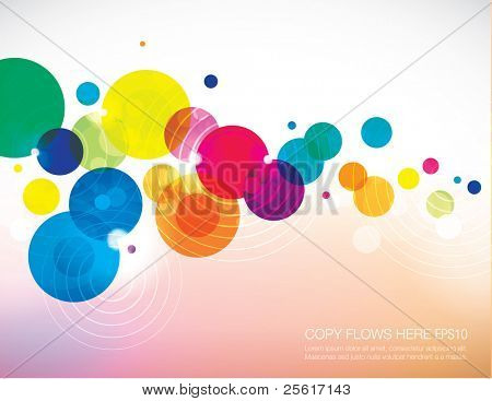 abstract background template design