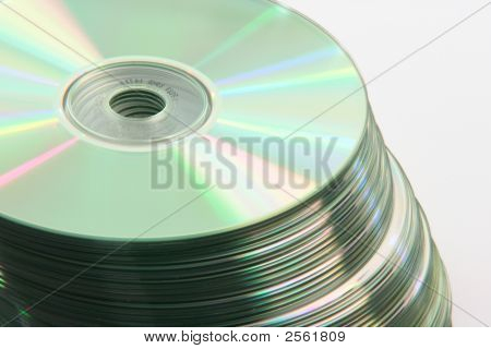 Blank Cds Isolated