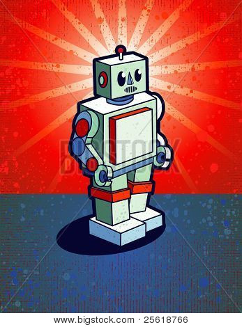 Old School Robot