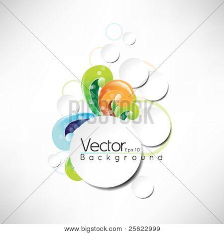 eps10 vector frame design multicolor design