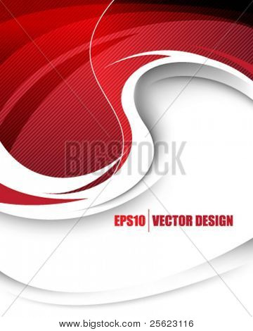 eps10 vector elegant wave concept design