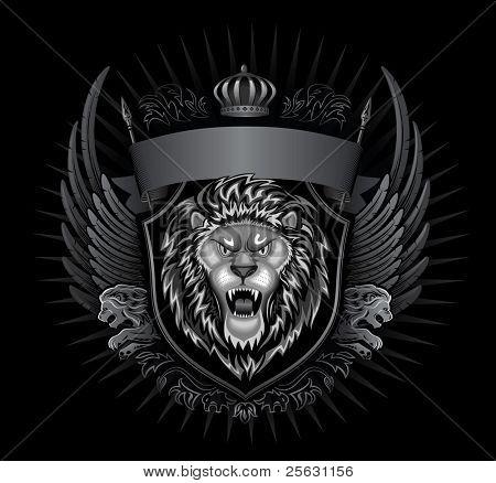 Insignia de Wild Lion