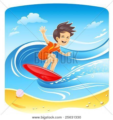 Windsurfer Boy