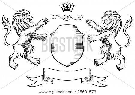 Insígnia de leões