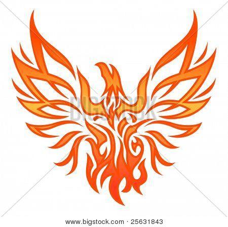 Fire Eagle Tattoo
