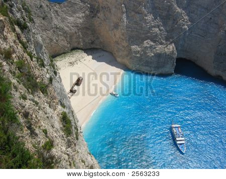Shipwreck Beach In Zakynthos Greece 3