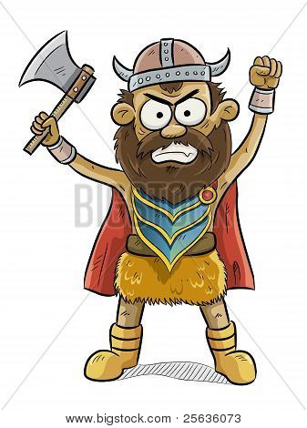 Angry Viking Man