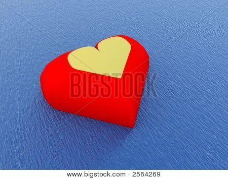 Heart In Water