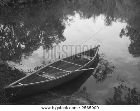 Canoe On The Bayou