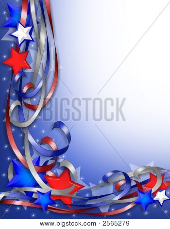 American Stars And Stripes 3D