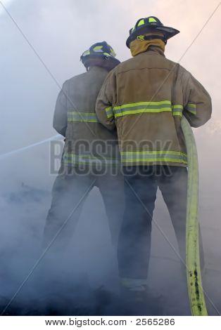 En el humo