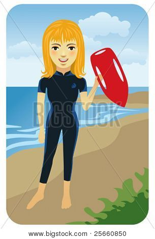 Profession series: Lifeguard - Visit our gallery for more professions and business people.