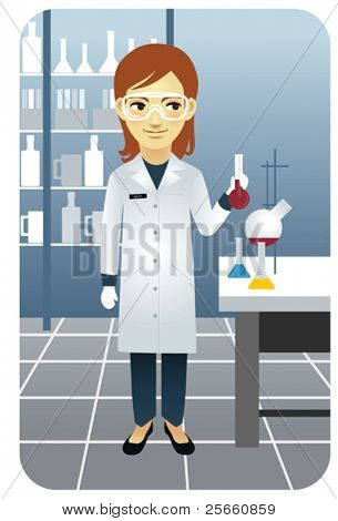Laboratory researcher - Visit our gallery for more professions.