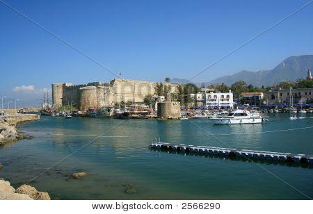 The Harbour Of Keryneia Cyprus