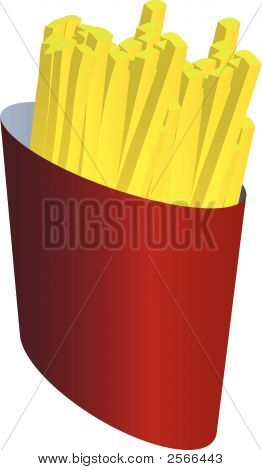 Fastfood_Fries.Eps