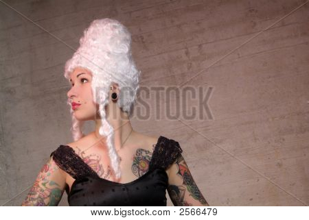 Disguised Woman