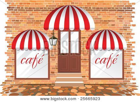 cafe showcase