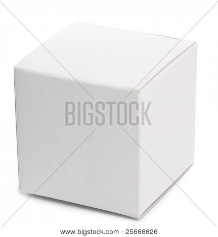 White-Box over white Background.