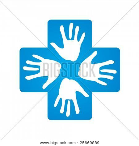 sign - a helping hand