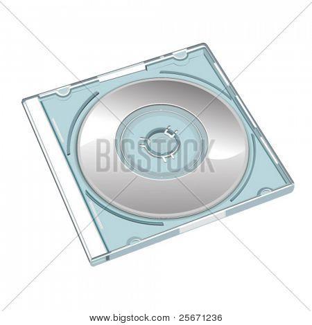 cd in box