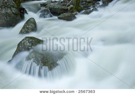 Bridaveil Fall Cascade