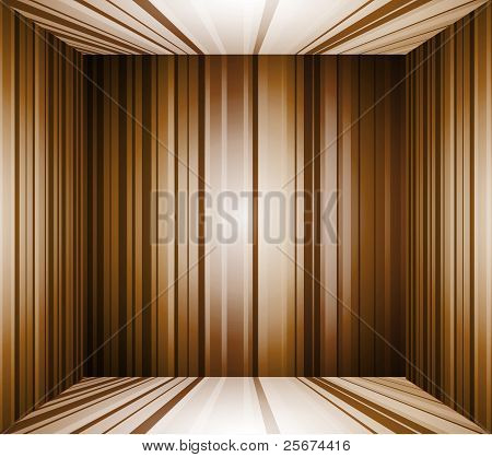 Empty Brown Interior Background