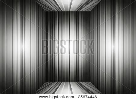 Empty Gray Interior Background