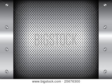 vector of metallic background