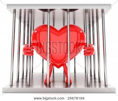 Heart in a prison