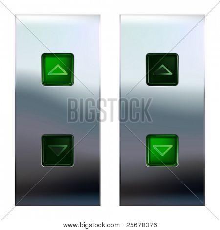 Elevator buttons  (#3 of 4) • Find more elevator panels  in my portfolio •